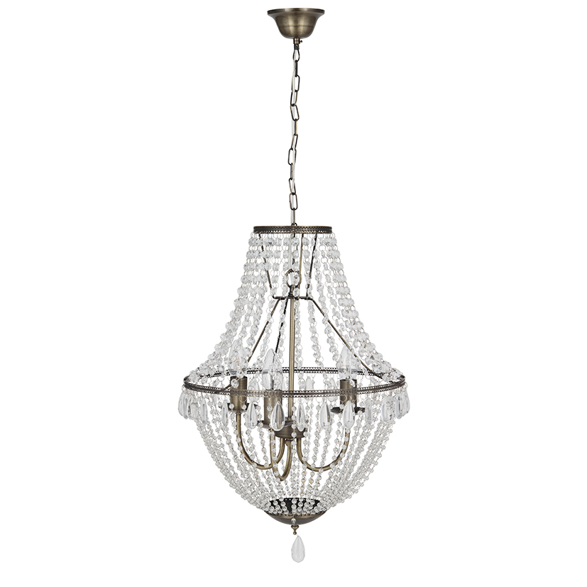 Beaded Chandelier €320.00 38.5cm X 38.5cm X 105cm