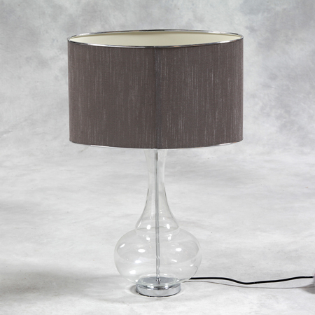 Clear Bulbous Lamp €158.00 36x25x70cm     MCGR