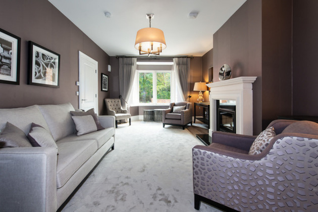 Foxrock Showhouse, All upholstery work completed by Yours Personally. Click here to view more....