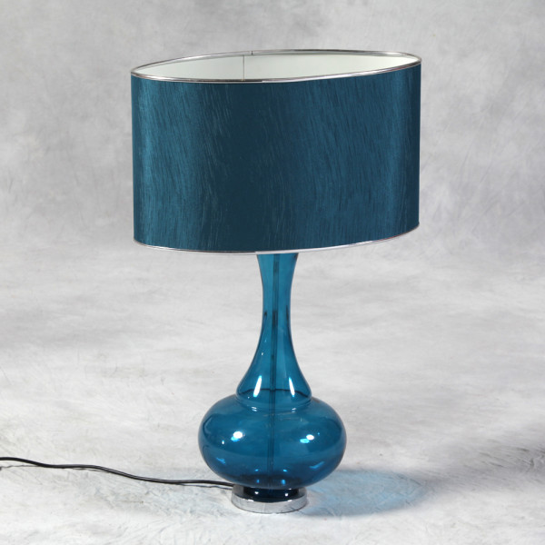 Blue Bulbous Lamp €158.00 36x25x70cm    MCGR