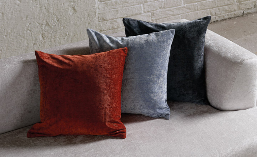 Kirkby Design Ion - Textured Velvet and Completely Washable
