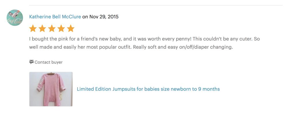 Vingerhoet baby jumpsuit