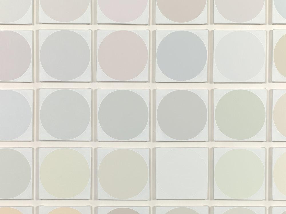 100 Whites (detail)