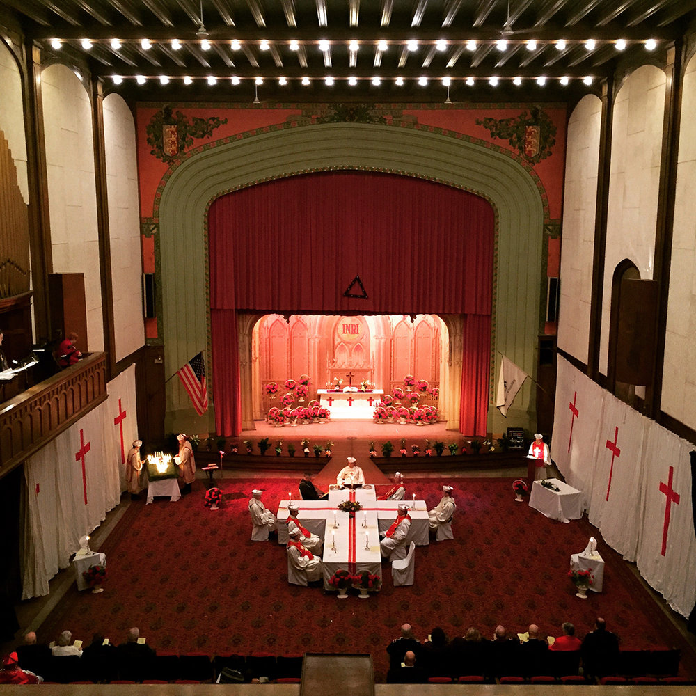 The Masonic Temple Project | Phase Three : The Theater