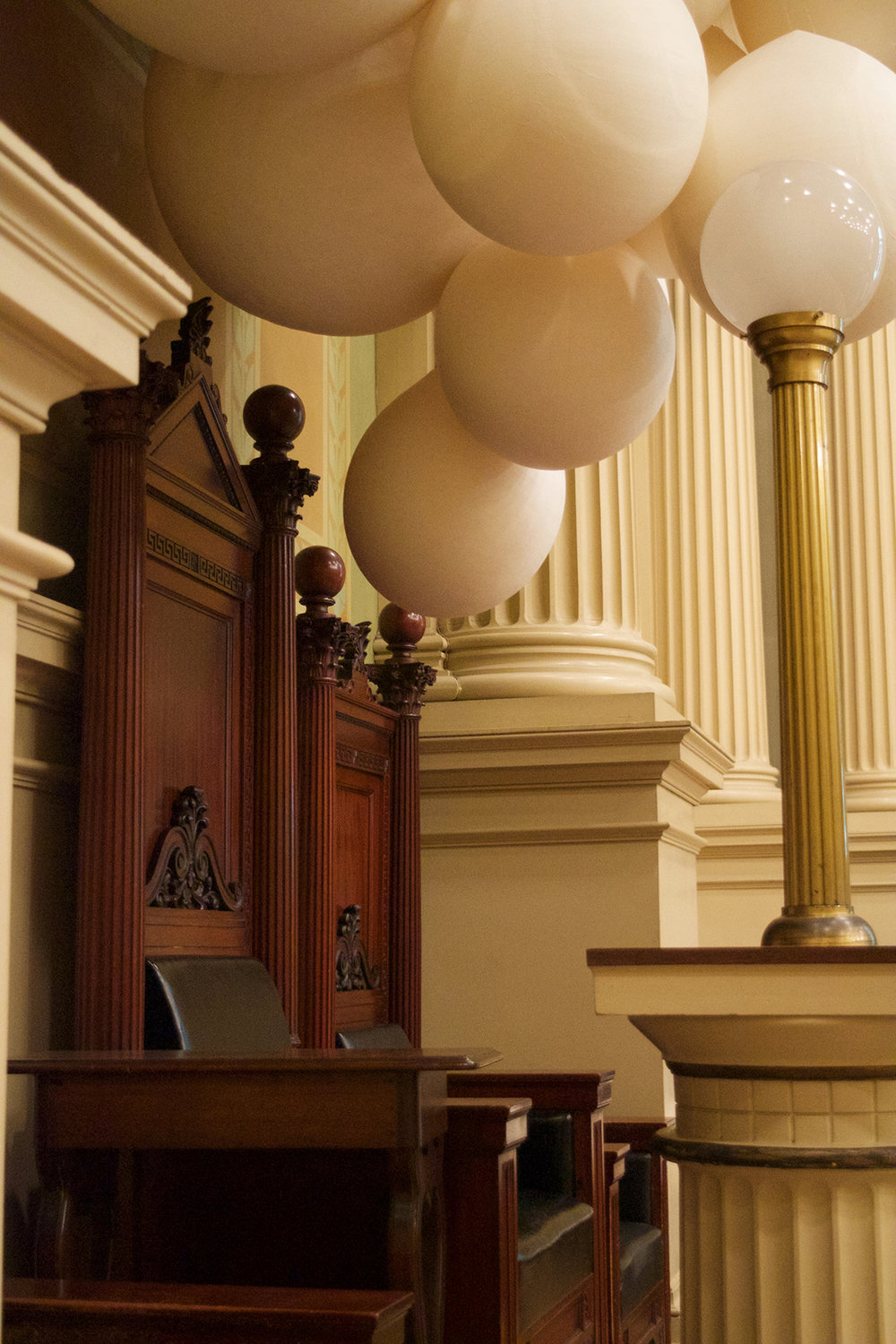 Corinthian Hall Installation