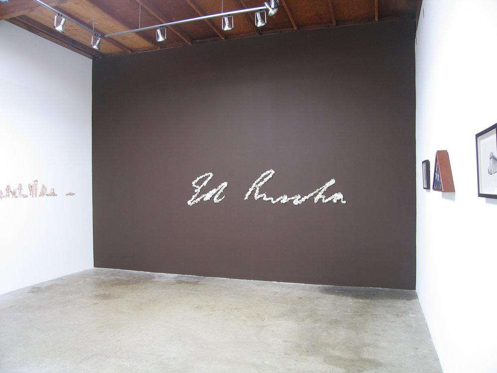 In Memoriam: Ed Ruscha (2006)