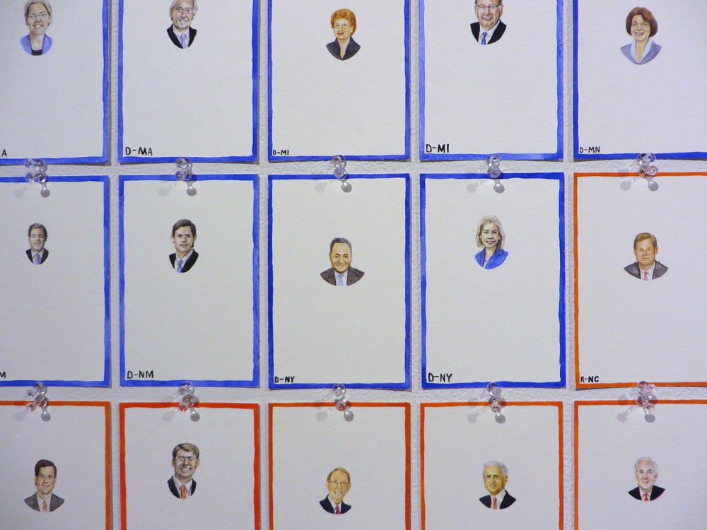 The Senate in my Lifetime (2008 - (2014 installation)) (detail)
