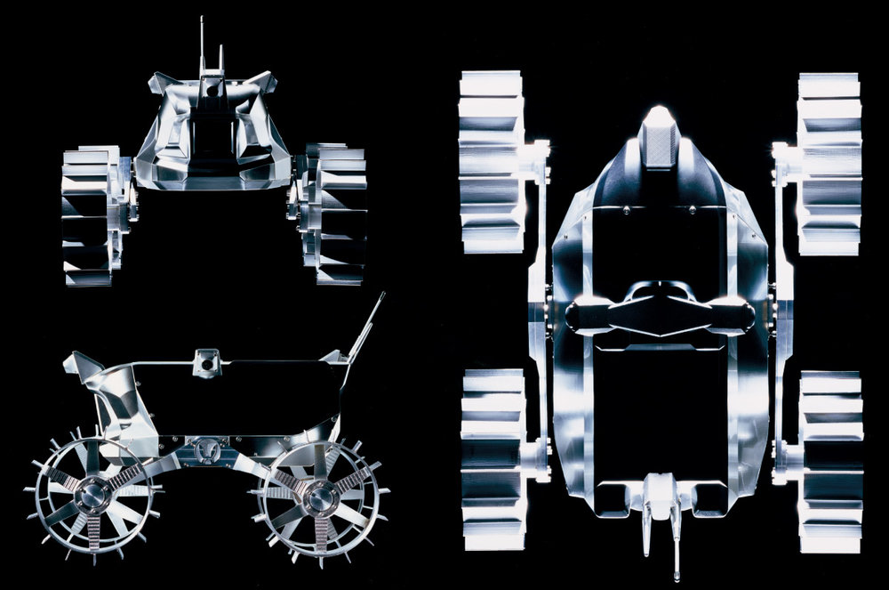 Team Hakuto's Rover Design for the Google Lunar X Prize