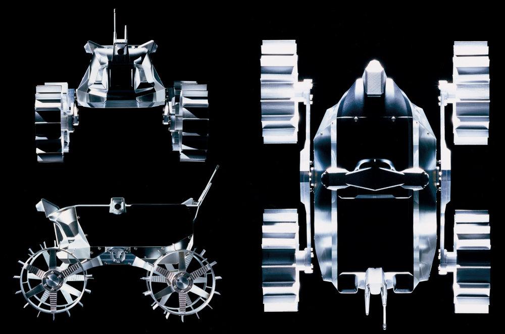 Team Hakuto's Rover Design for the Google Lunar X Prize