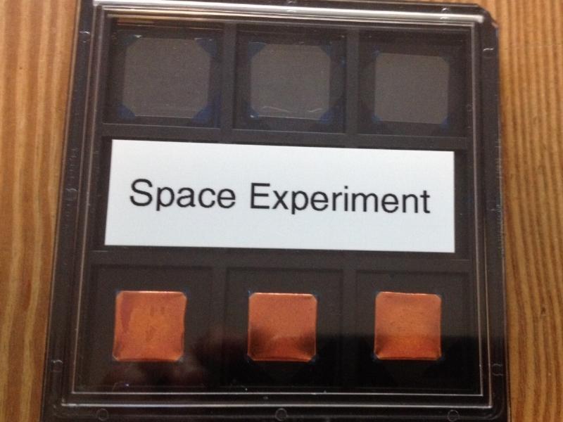 Graphene samples sent from National University of Singapore (NUS)