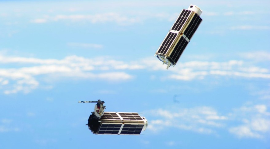 Illustration of the Dove CubeSats