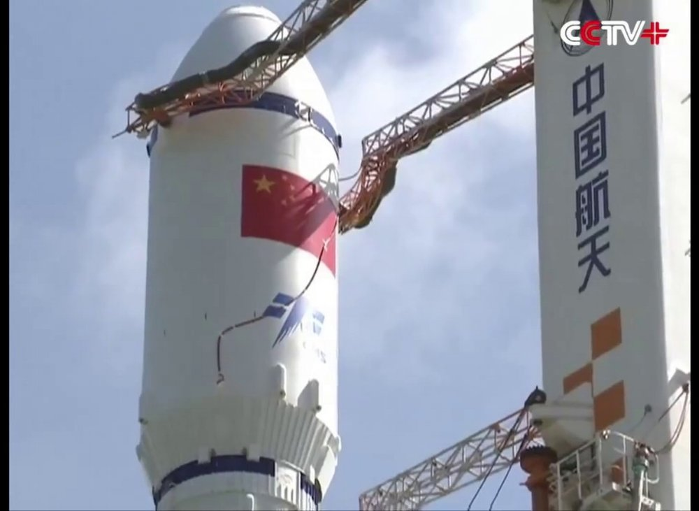 Tianzhou 1 - The first unmanned cargo spacecraft of the Tianzhou series