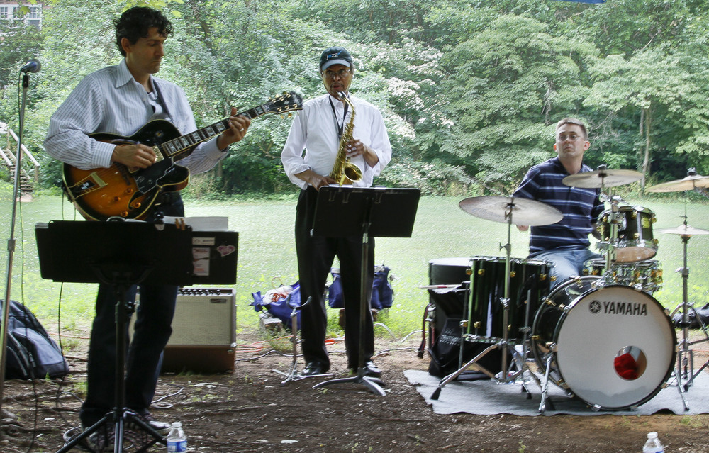 The  Danny Meyer Band  sets the stage again this year with killer cool music.