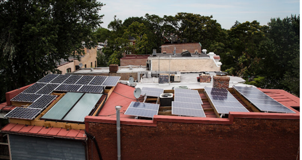 dc solar installation.