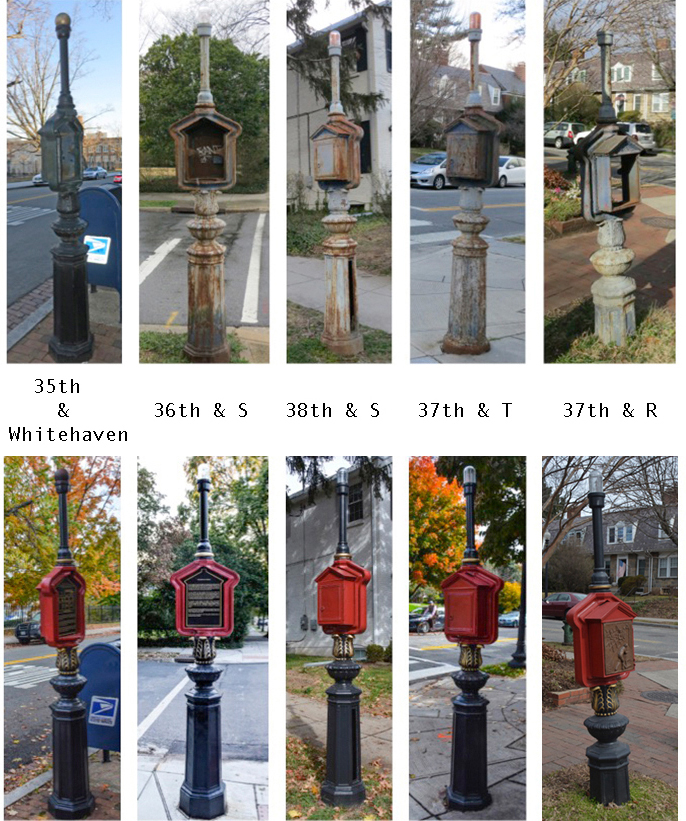 As in other DC neighborhoods, call boxes became obsolete when the 911 emergency call system was introduced in the 1970s.