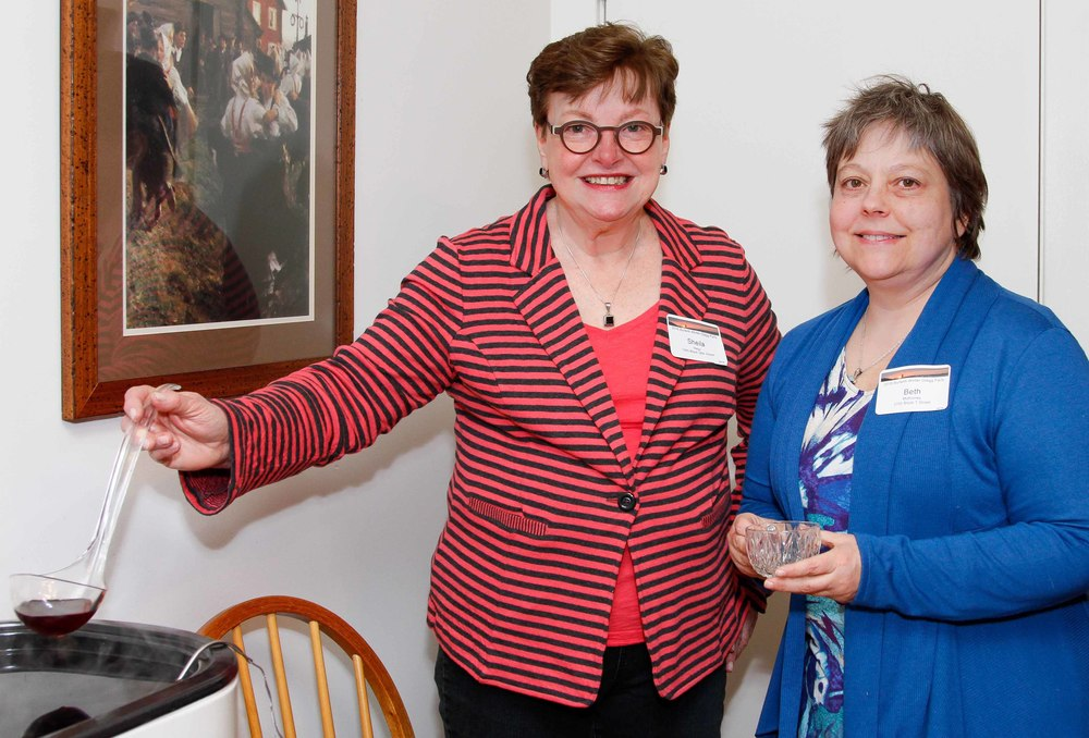 sheila hagy and beth mckinney. Photo by Alex Frederick.