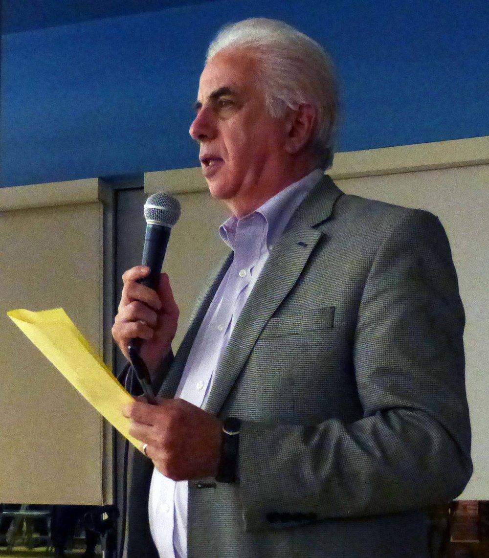 ANC-2E Commissioner Ed Solomon.