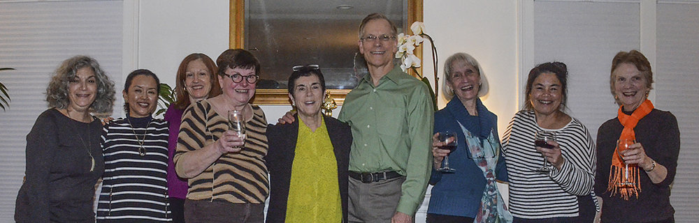 Pot Luck Dinner at home of Pat Davies - Jan 6, 2017