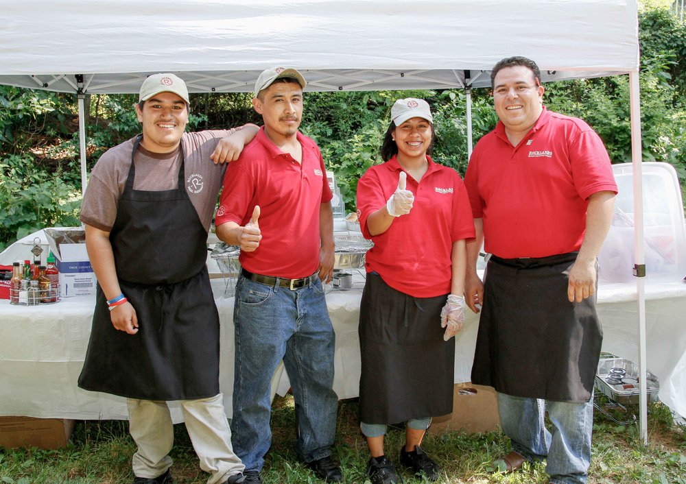 Once again, Rocklands Barbeque and Grilling Company will serve up its delicious  specialties.