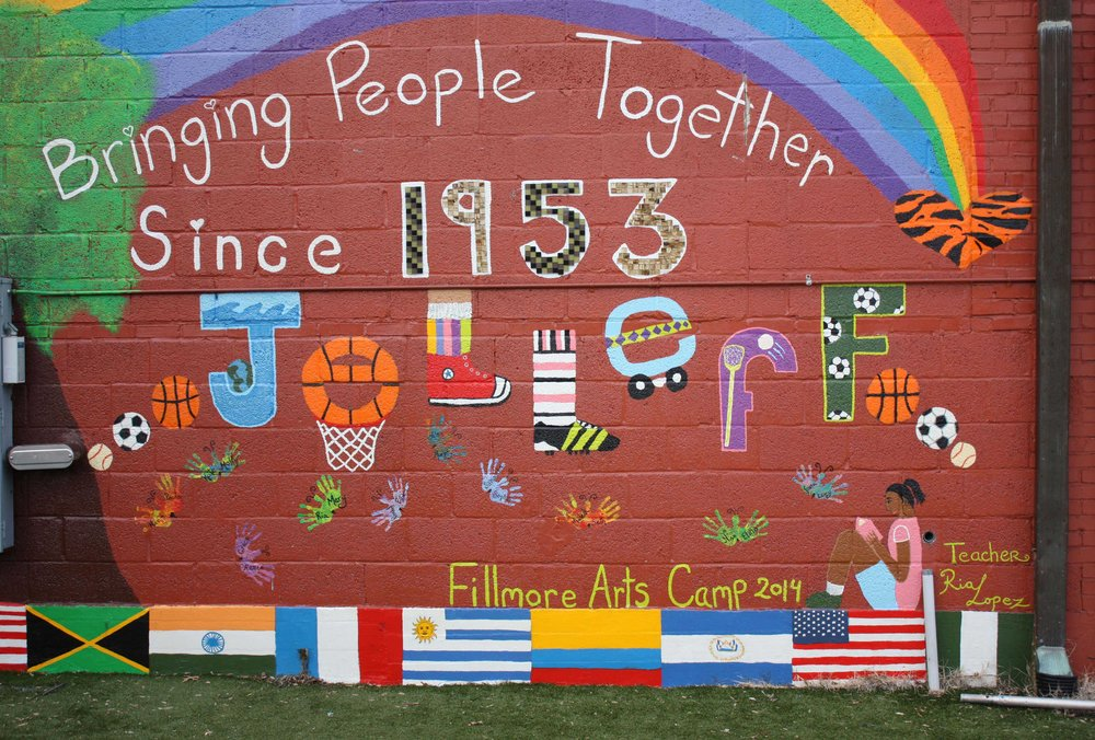 Jelleff mural. Photos by Kishan Putta.