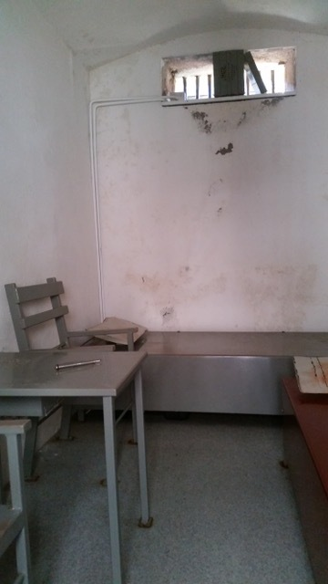 Internees cell at Trial Bay Gaol. Pic by author.