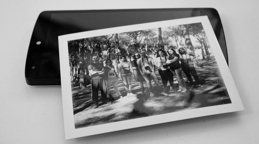 I partecipanti al corso di fotografia di Alessandro Burato