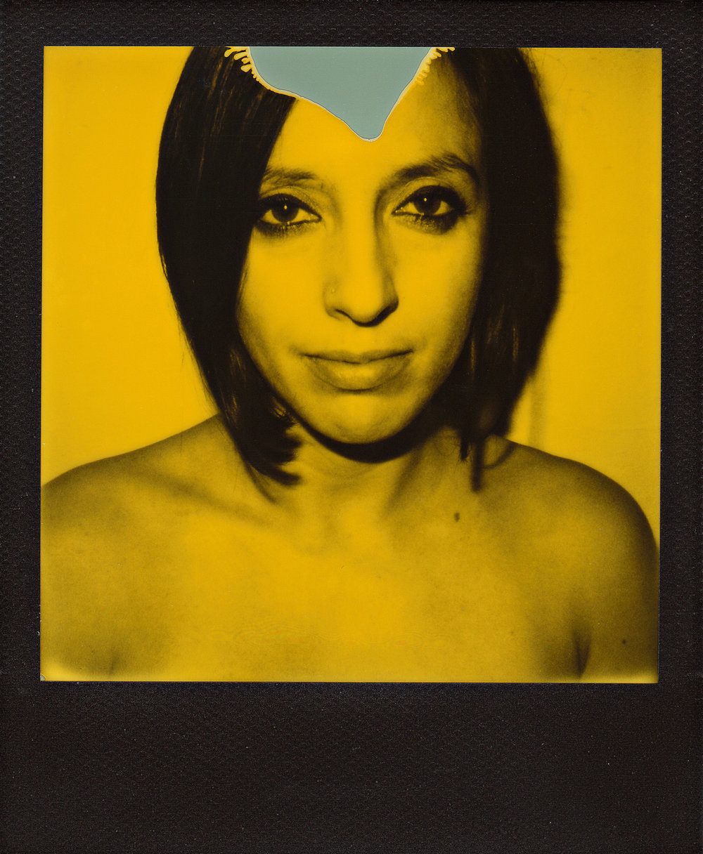Rita, 2015 Polaroid SLR 680 + Impossible Third Man Records edition. ©Alessandro Burato