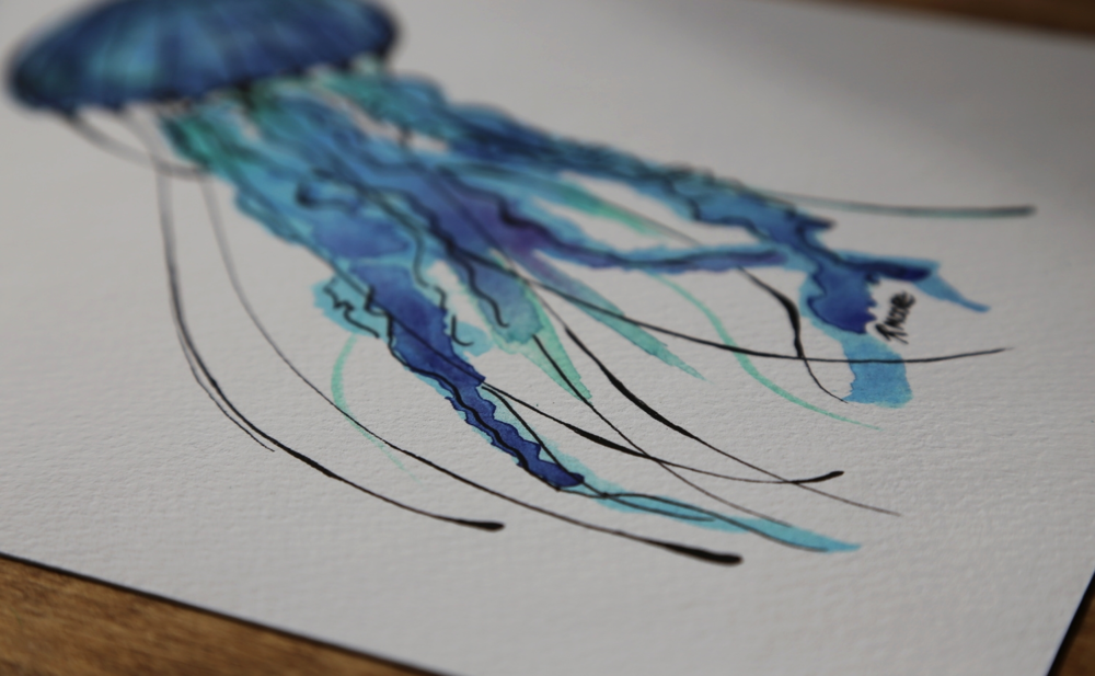 Giclee Print on acid-free watercolour paper