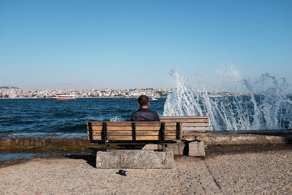 Istanbul benches