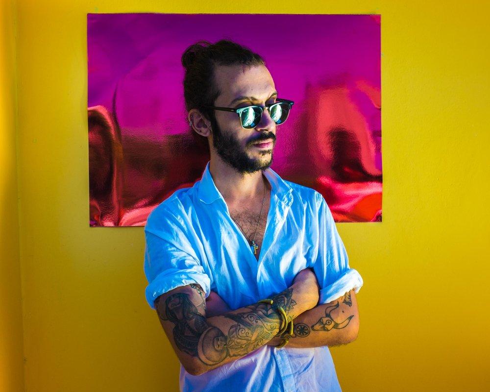 Musician/Photographer Bilal Tarabay