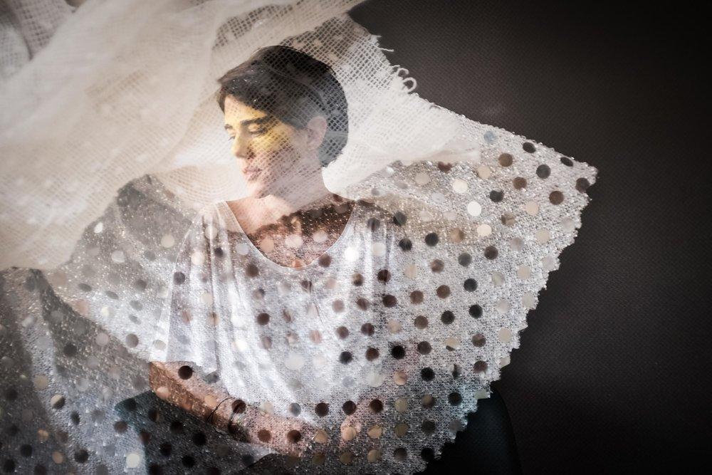 Fashion designer Sarah Hermez