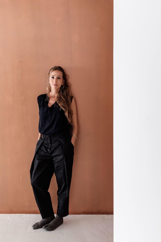 Fashion designer Tala Hajjar