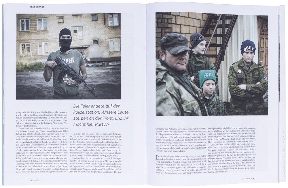 DATUM - Seiten der Zeit, Dezember 2016