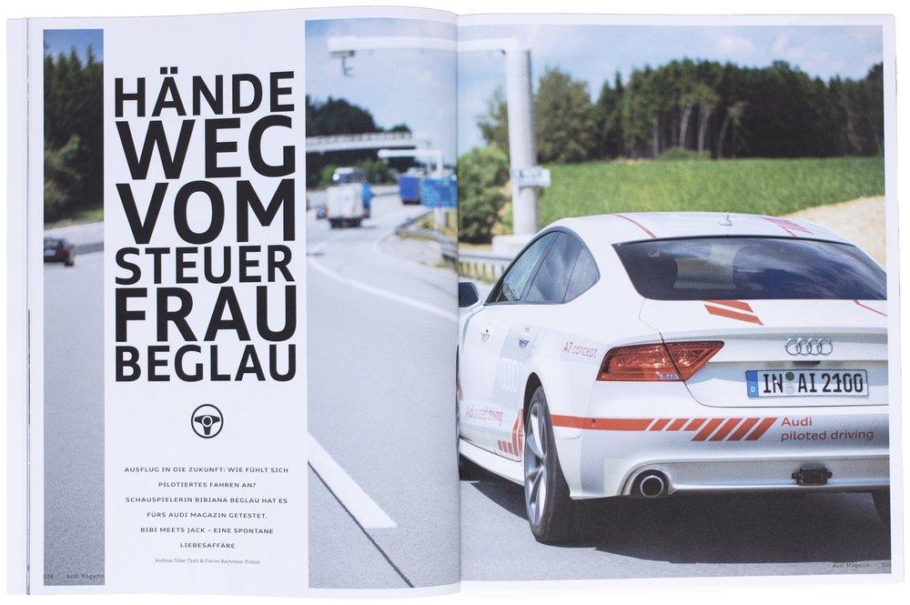 Audi Magazin, März 2016
