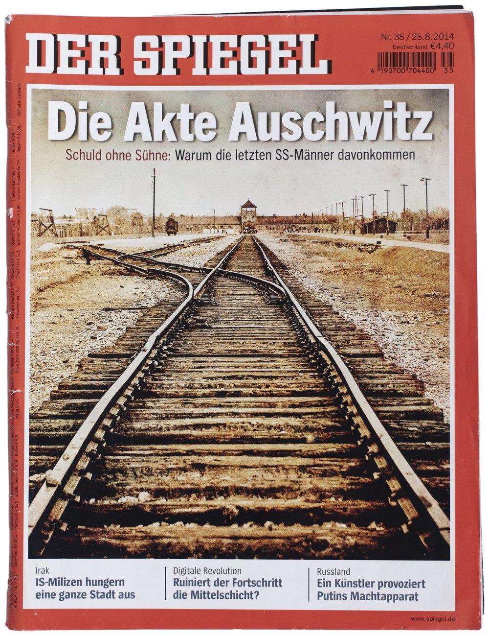 Der Spiegel, #35, 25. August 2014