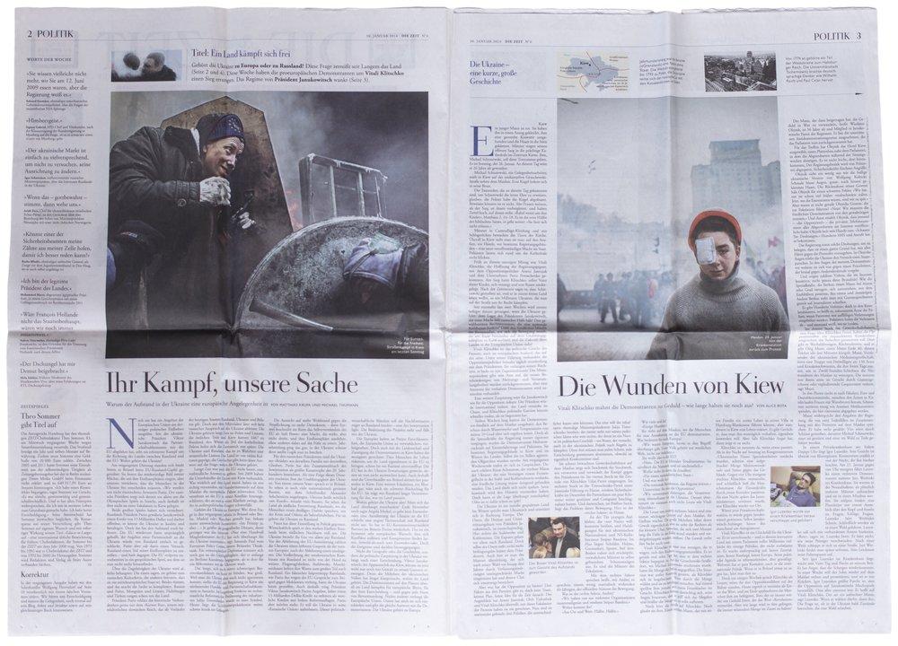 Zeit, 30. Januar 2014