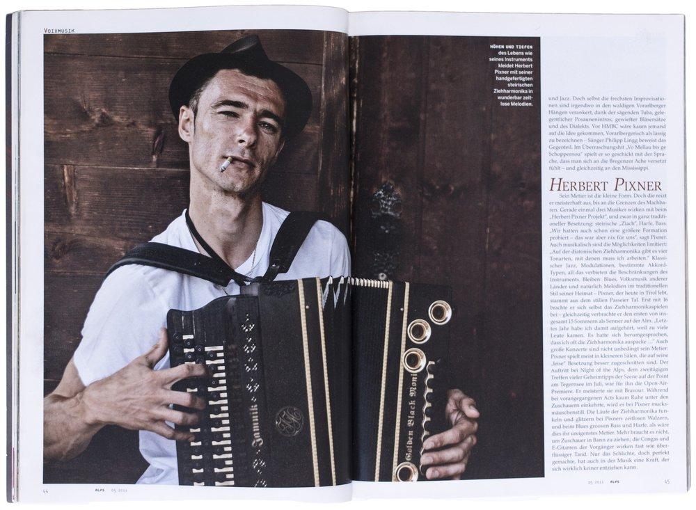 ALPS Magazine, Mai 2015