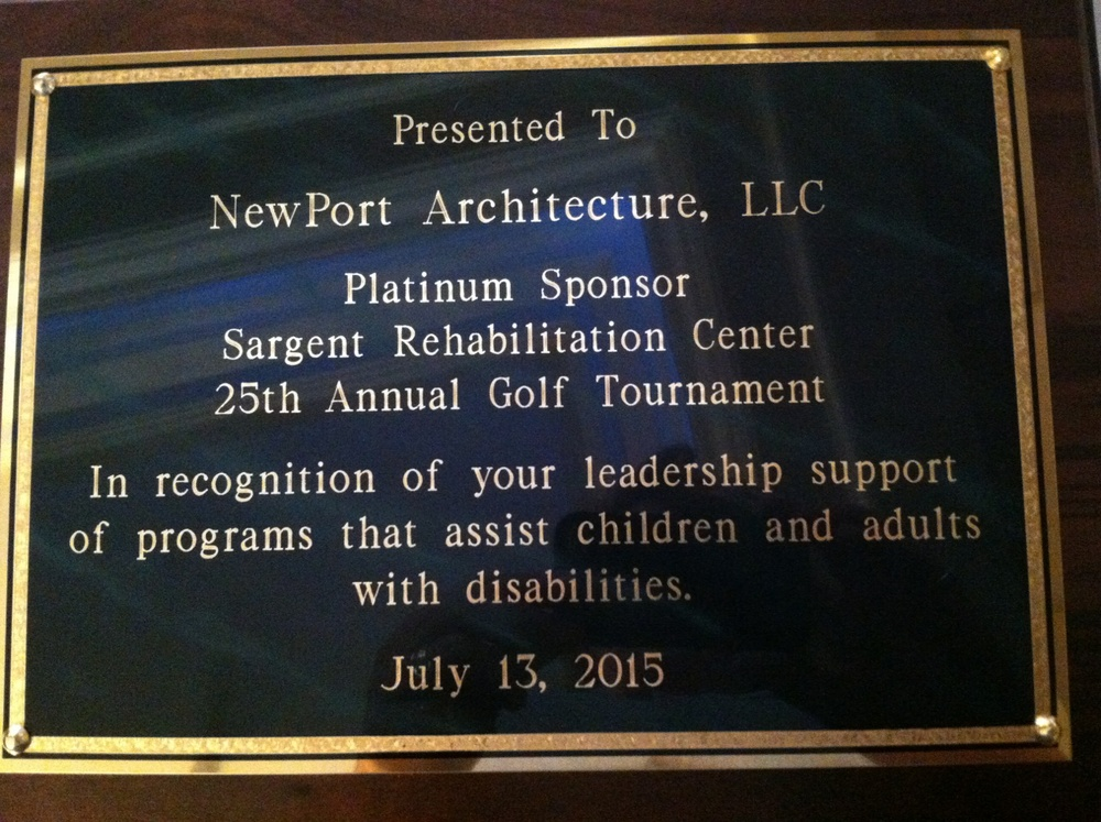 We're always happy to support the Sargent Rehabilitation Center and all the excellent work they do in the community.