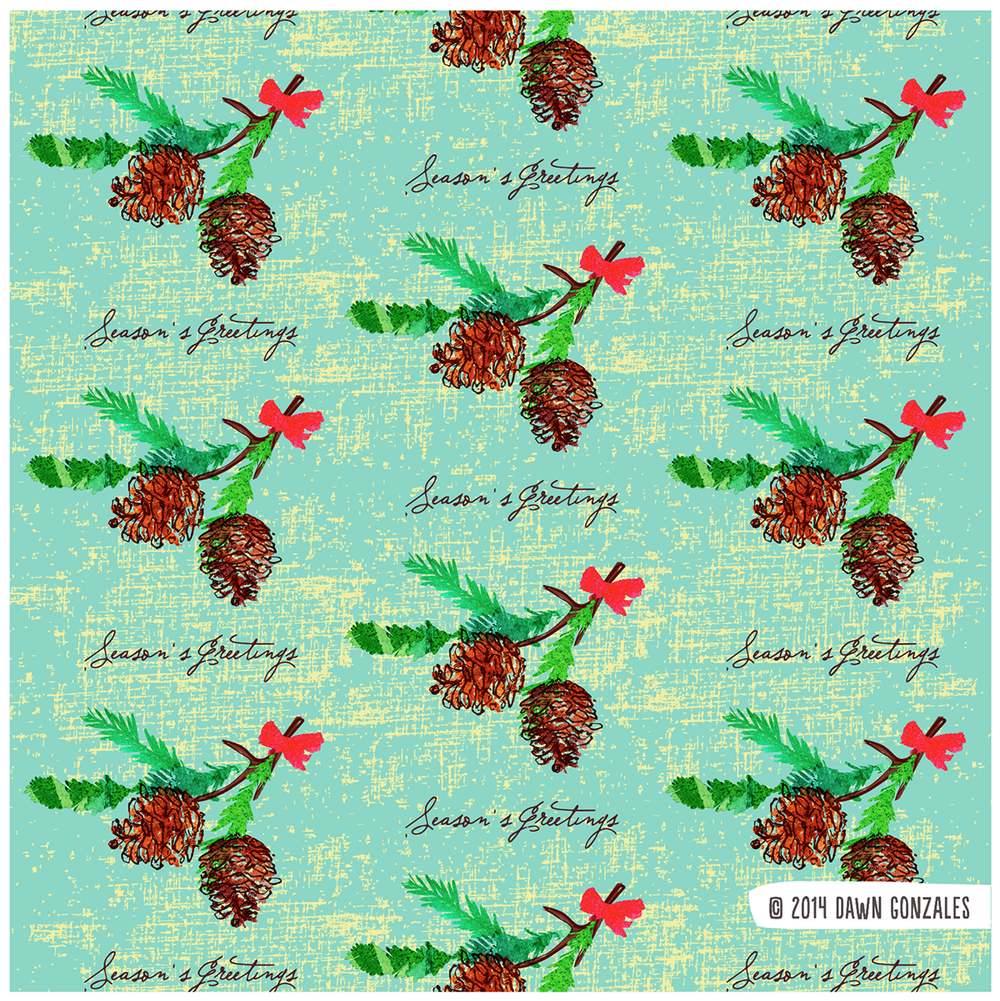 Holiday Pinecones_drg