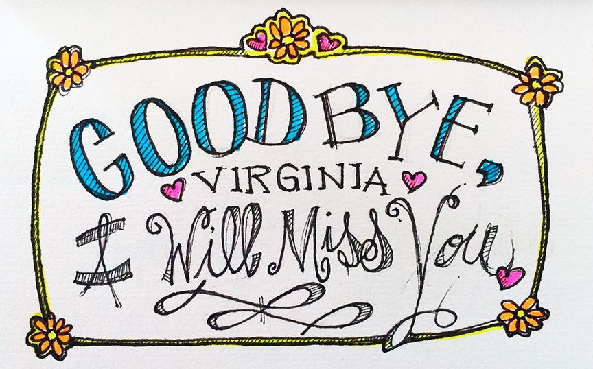 My fond farewell.