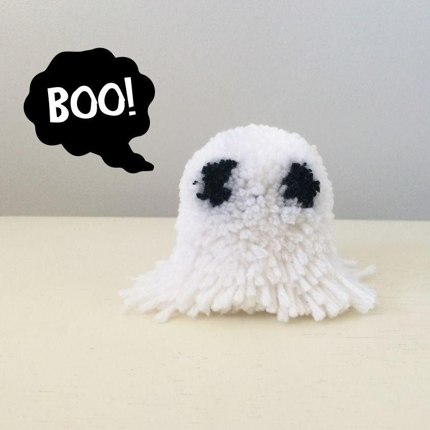 Ghost Pom-Pom