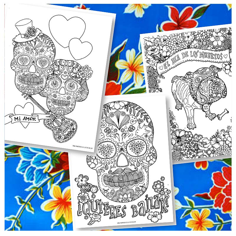 Coloring pages by Dawn Gonzales