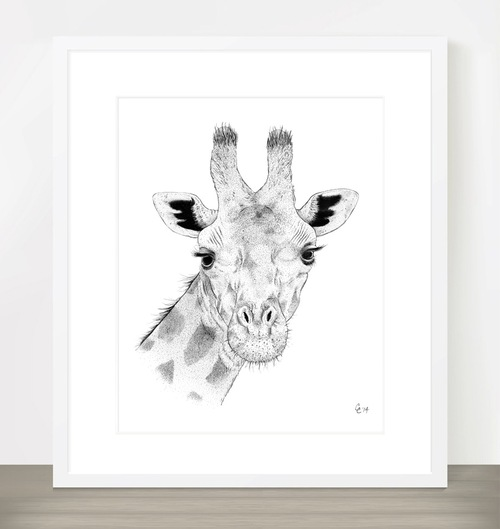 Giraffe by Chris Cerrato