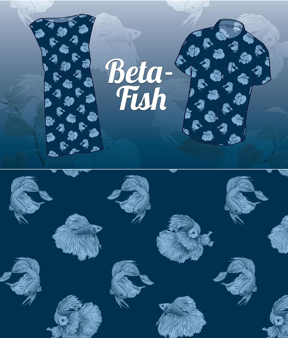 Betafish Pattern by Chris Cerrato