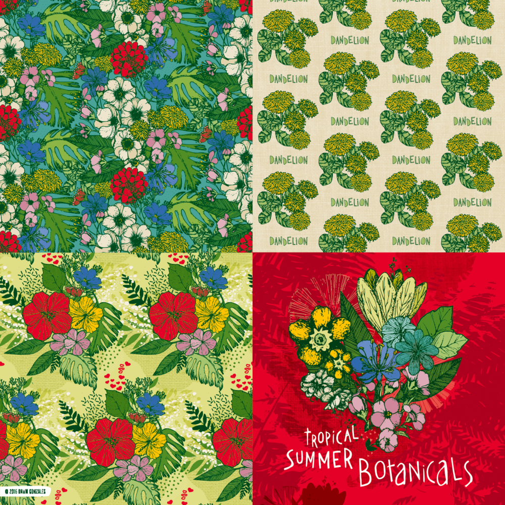 Summer Botanicals Collection