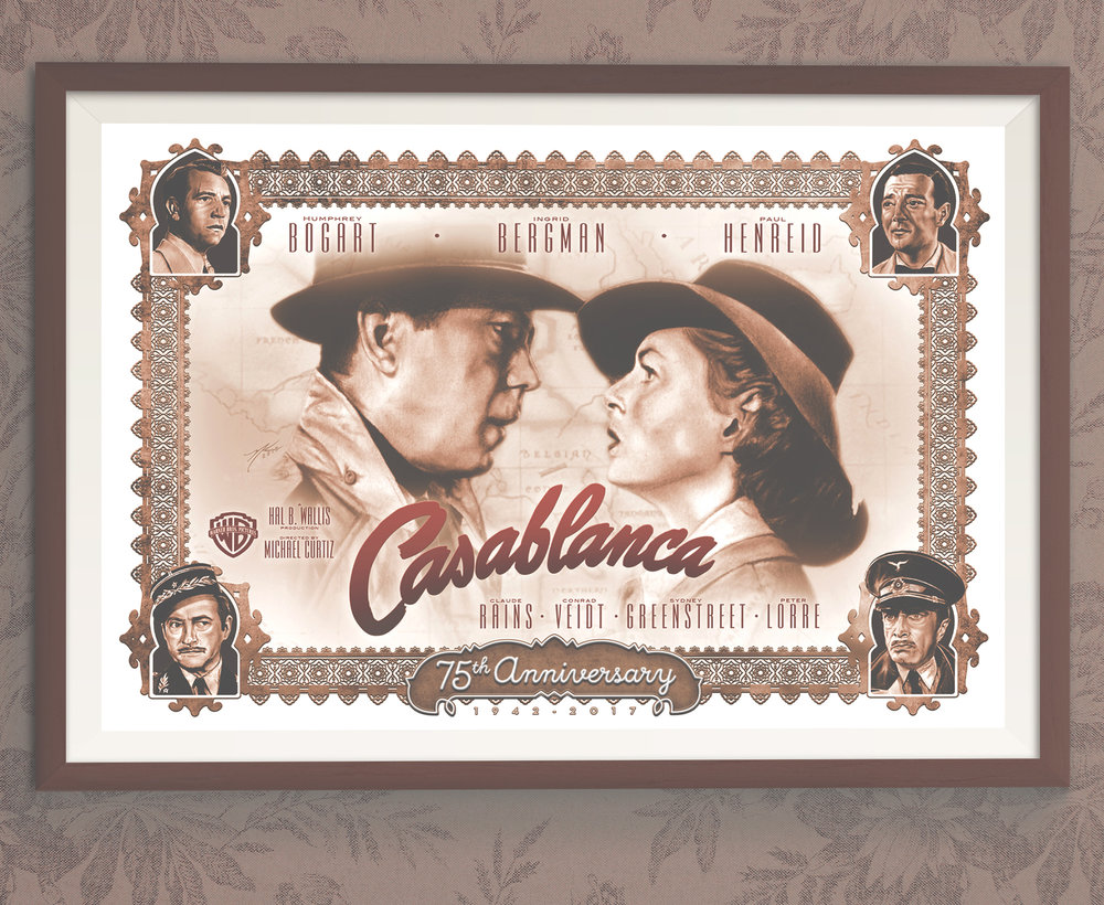 """Casablanca 75th Anniversary"""