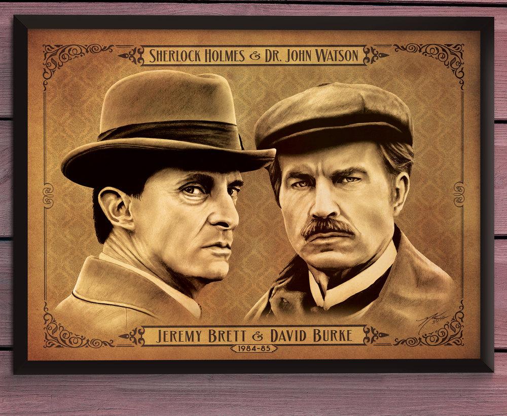 """""""Holmes & Watson (Jeremy Brett & David Burke)"""""""