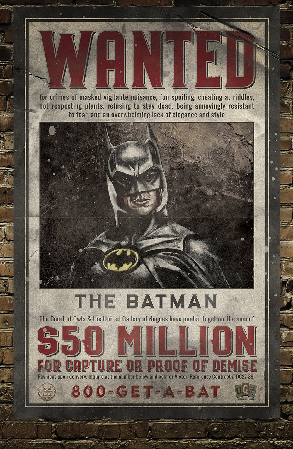 """Wanted: The Batman"""