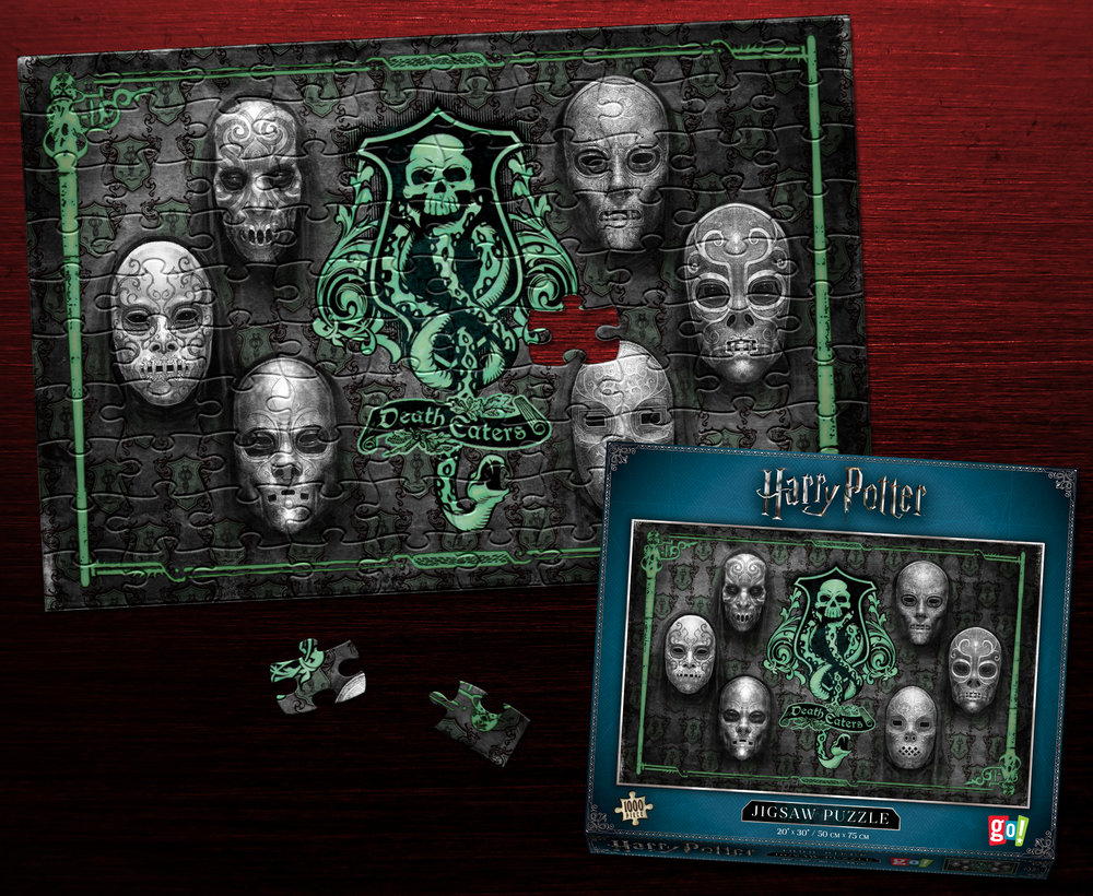 "Harry Potter ""Death Eaters"" 1000-pc Puzzle"