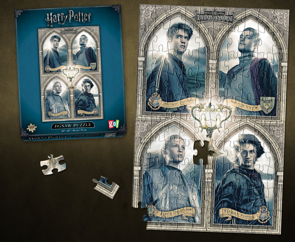 "Harry Potter ""Tri-Wizard Tournament"" 1000-pc Puzzle"